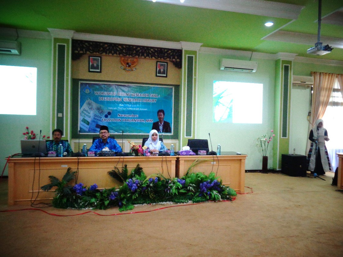 Workshop Online Research Skill